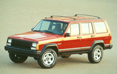 1996 Jeep Cherokee 4 Dr S exterior #1