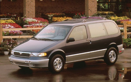 1996 Mercury Villager 2 D exterior #1