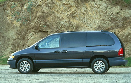 1996 Plymouth Voyager 2 D exterior #4