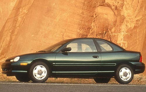 1996 Plymouth Neon 2 Dr H exterior #3