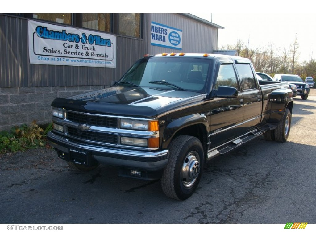 1997 chevrolet c k 3500 series information and photos zombiedrive. Black Bedroom Furniture Sets. Home Design Ideas