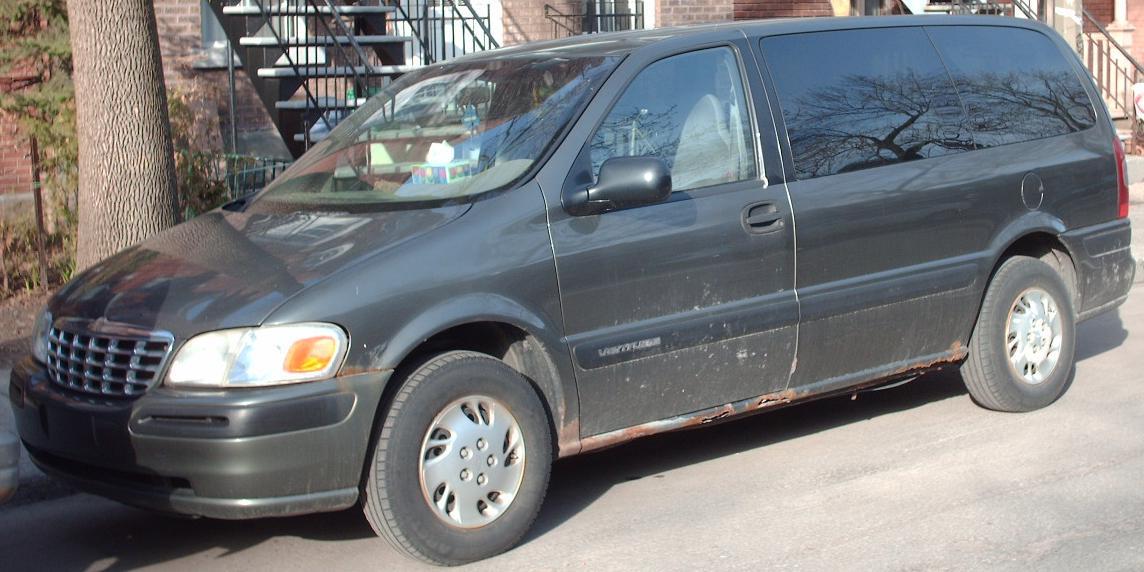 1997 chevrolet minivan