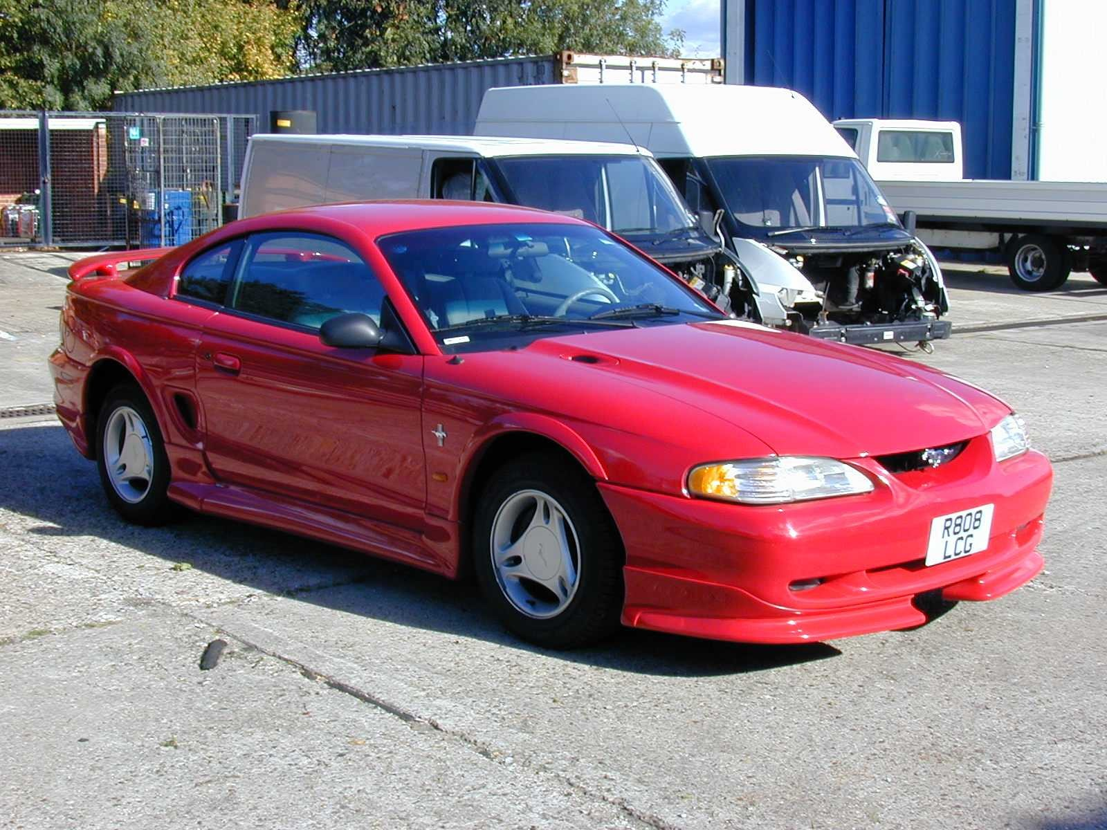 1997 ford mustang 8 ford mustang 8
