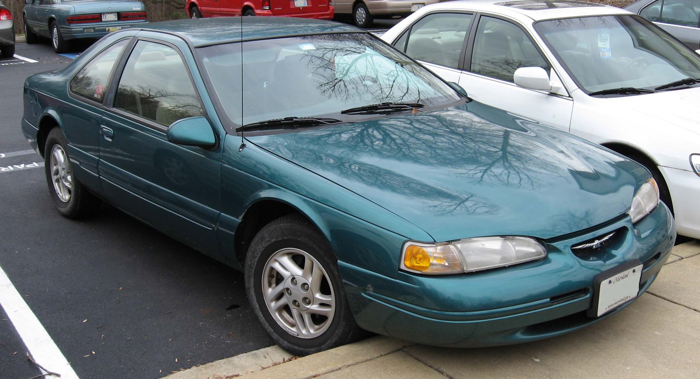 Ford Thunderbird on 1998 Ford Contour Green