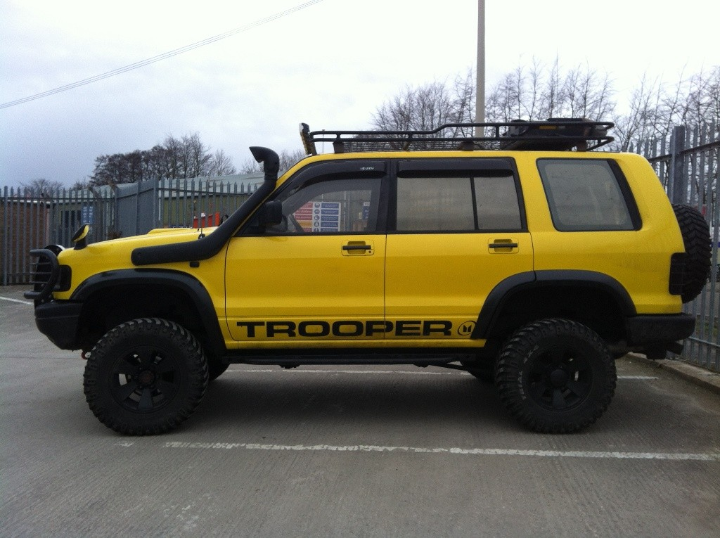 Isuzu Trooper #8