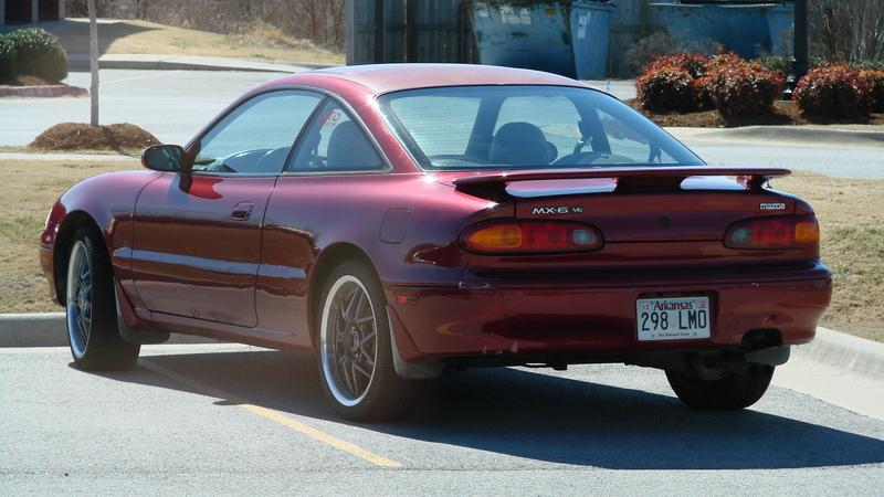 1997 Mazda MX-6 - Information and photos - ZombieDrive