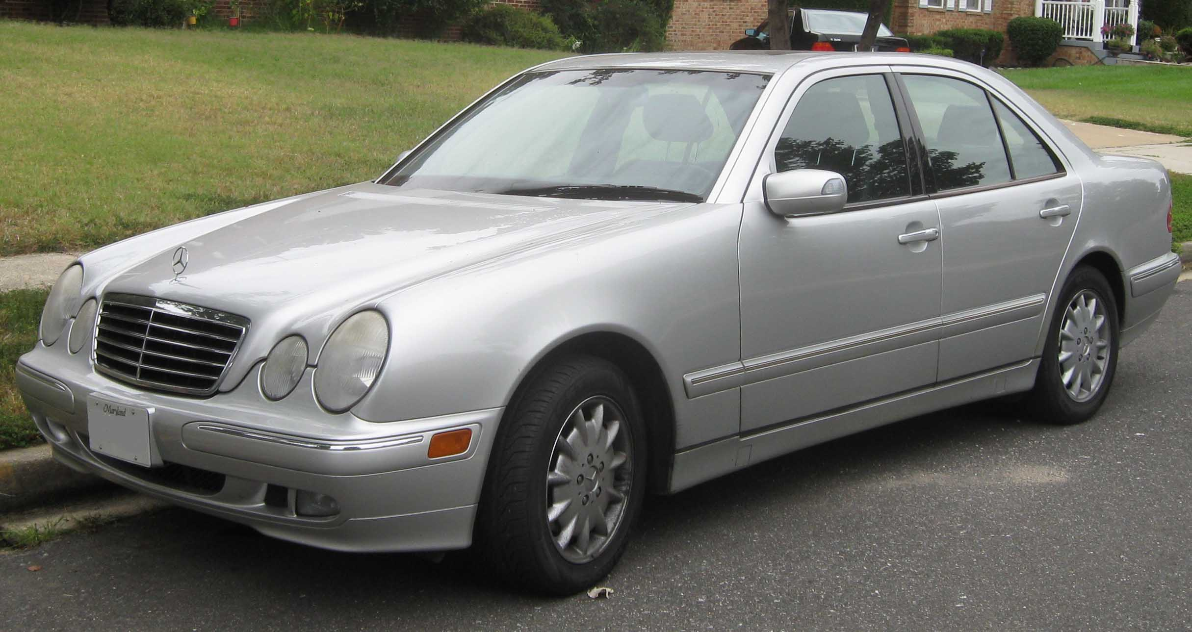 1997 mercedes benz e class information and photos for Facts about mercedes benz