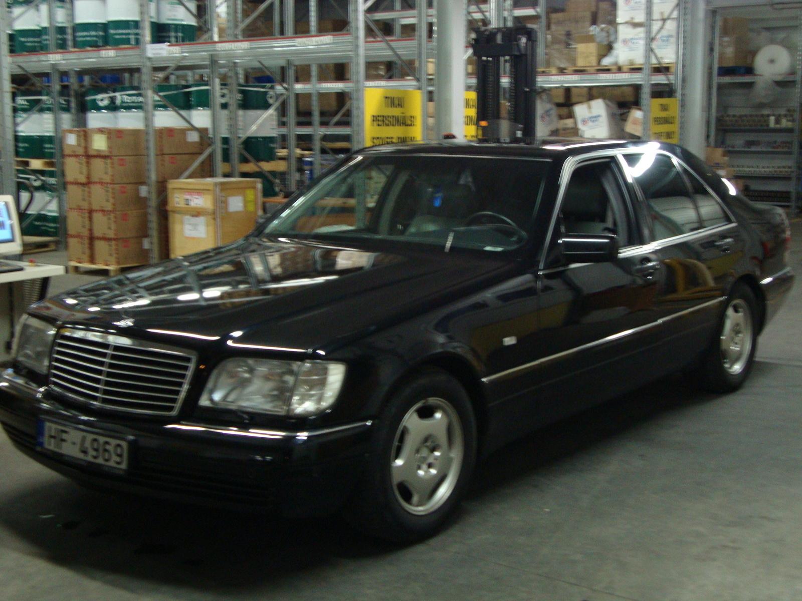1997 mercedes benz e class information and photos for Mercedes benz e320 1997