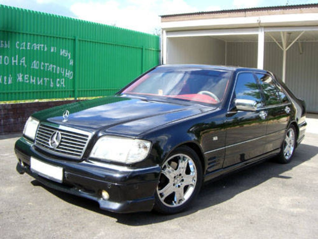 1997 mercedes benz s class image 8. Black Bedroom Furniture Sets. Home Design Ideas
