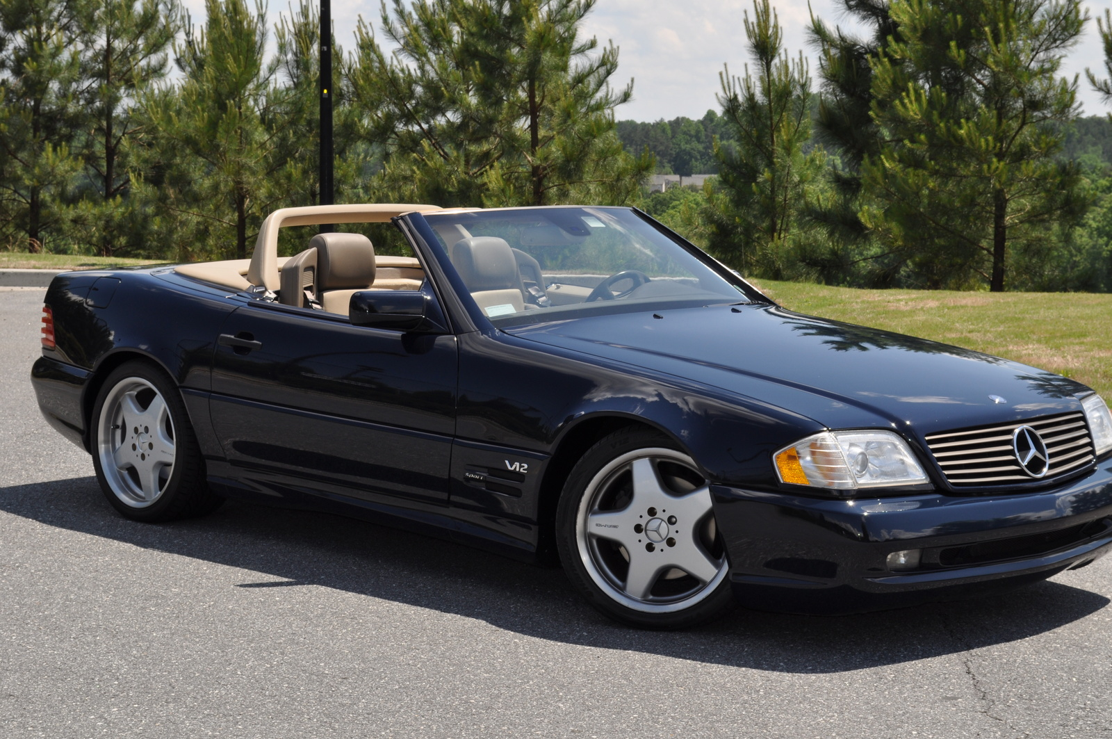 1997 MercedesBenz SLClass  Information and photos  ZombieDrive