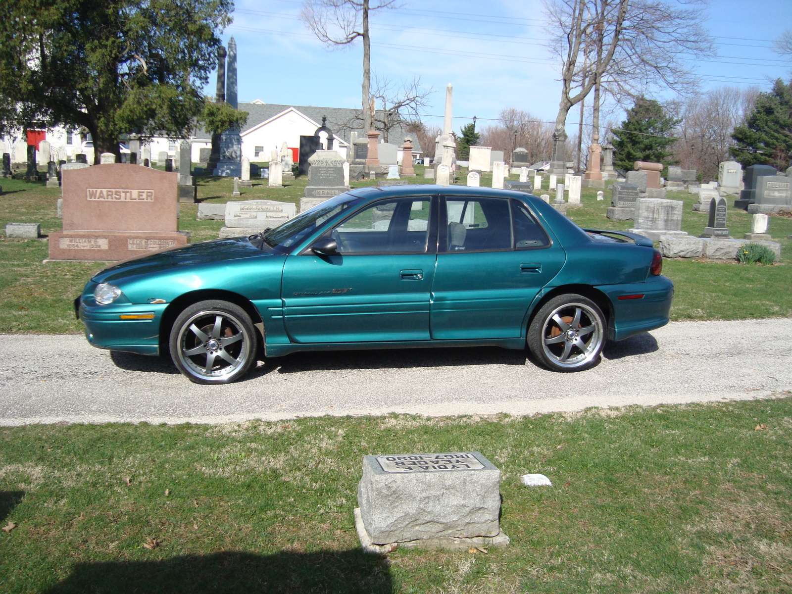 1997 Pontiac Grand Am #7 Pontiac Grand Am #7
