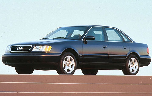 1997 Audi A6 4 Dr STD Sed exterior #4