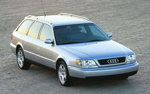 1997 Audi A6 4 Dr STD Sed exterior #2