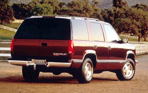 1999 Chevrolet Tahoe 4 Dr exterior #6