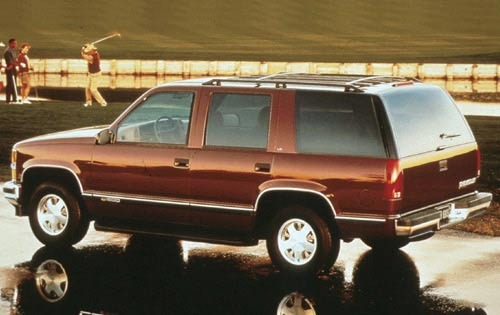 1999 Chevrolet Tahoe 4 Dr exterior #4