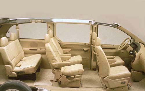 1997 Chrysler Town and Co interior #4