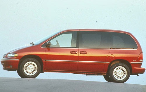 1997 Chrysler Town and Co interior #1
