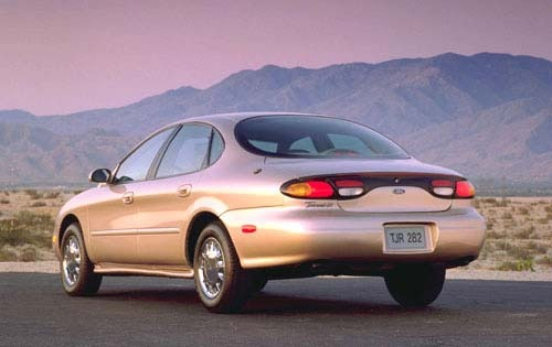 1997 Ford Taurus 4 Dr SHO exterior #6
