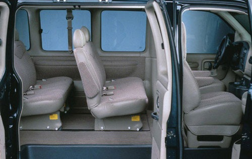 1997 GMC Savana 2 Dr G350 interior #3