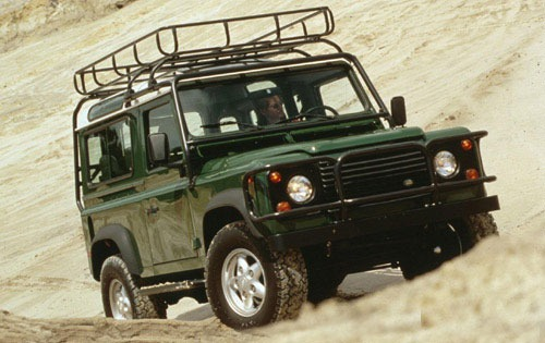 1997 Land Rover Defender  exterior #1
