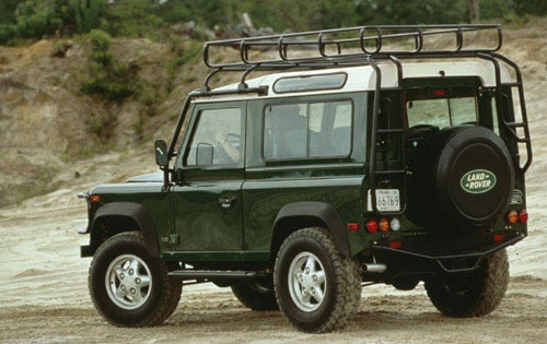 1997 Land Rover Defender  exterior #2
