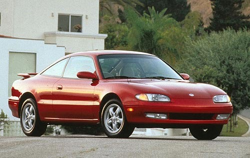 1997 Mazda MX6 2 Dr LS Co exterior #1