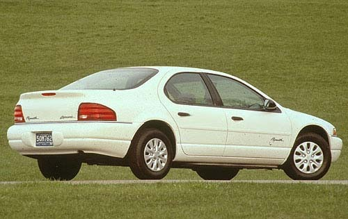 1997 Plymouth Breeze 4 Dr exterior #4
