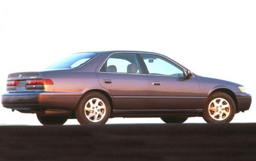 1997 Toyota Camry 4 Dr LE interior #3