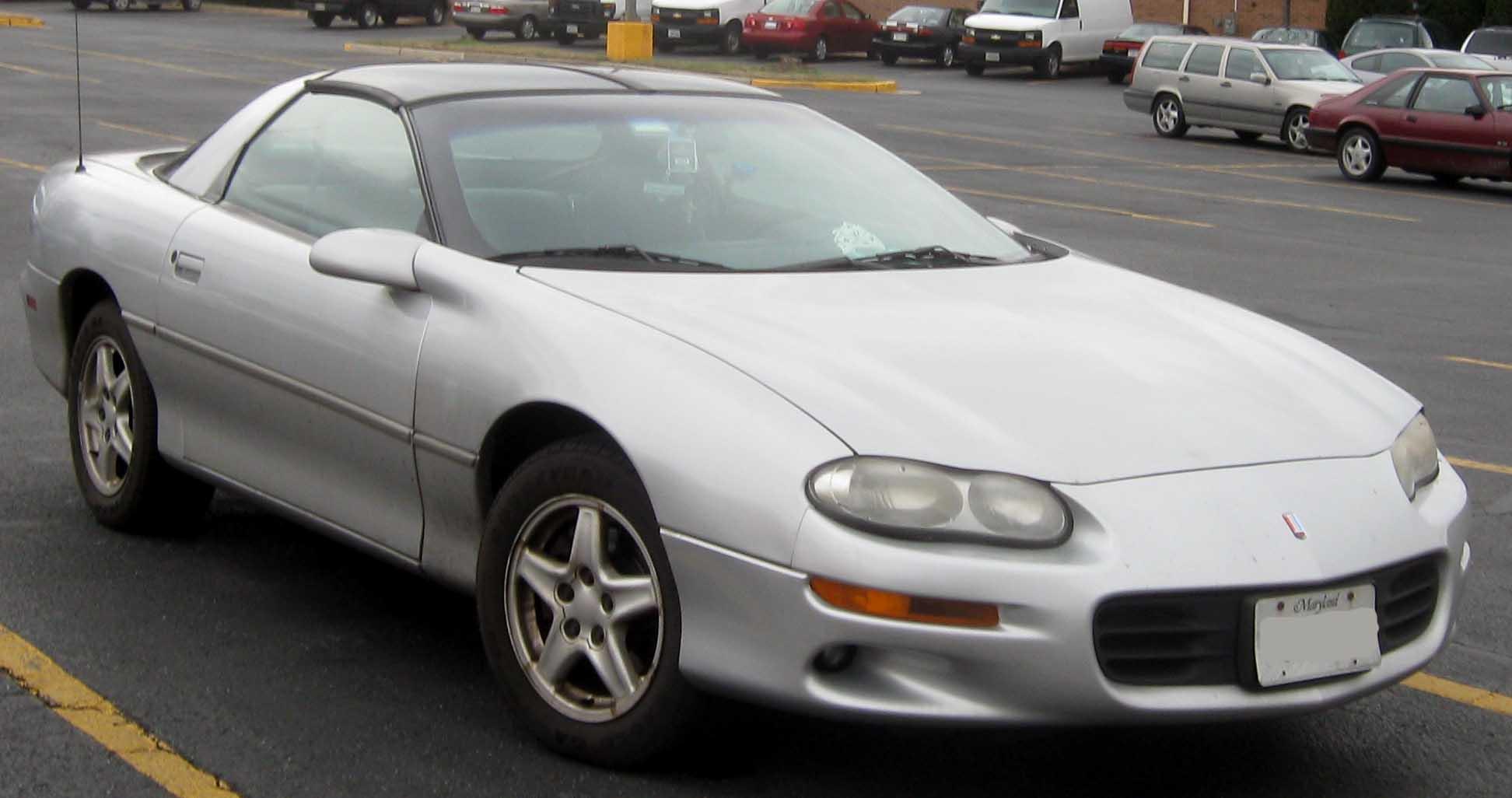 1998 Chevrolet Camaro Information And Photos Zombiedrive