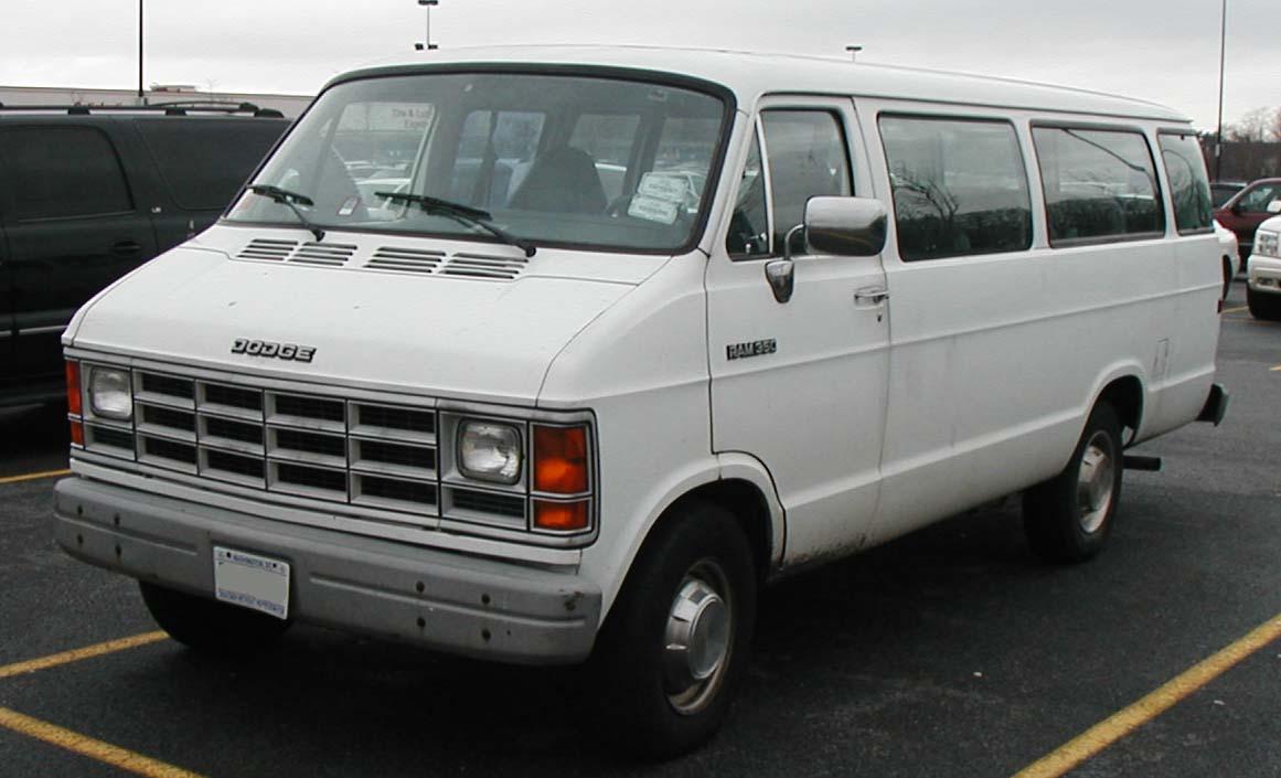 1998 Dodge Ram Van 4