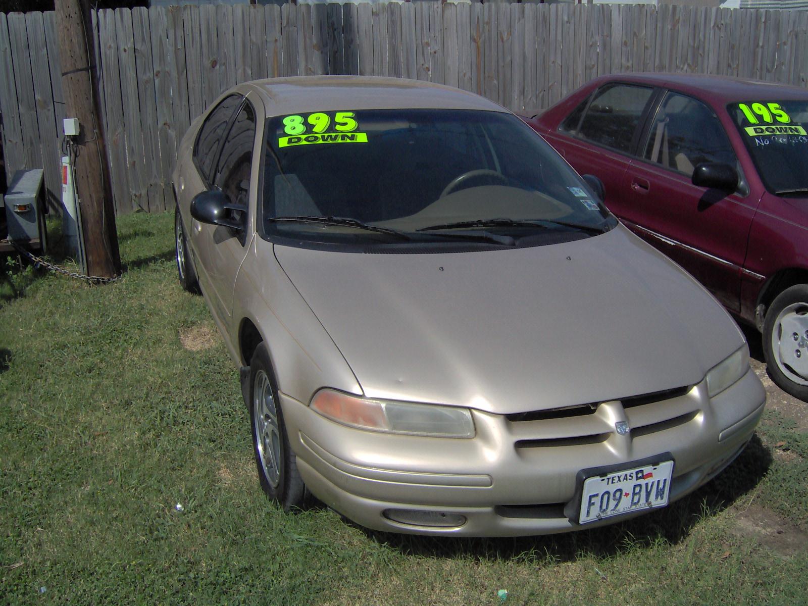 1998 Dodge Stratus #4 Dodge Stratus #4