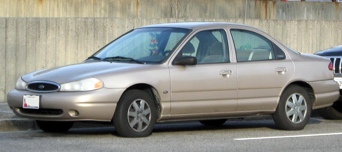 1998 ford contour image 2