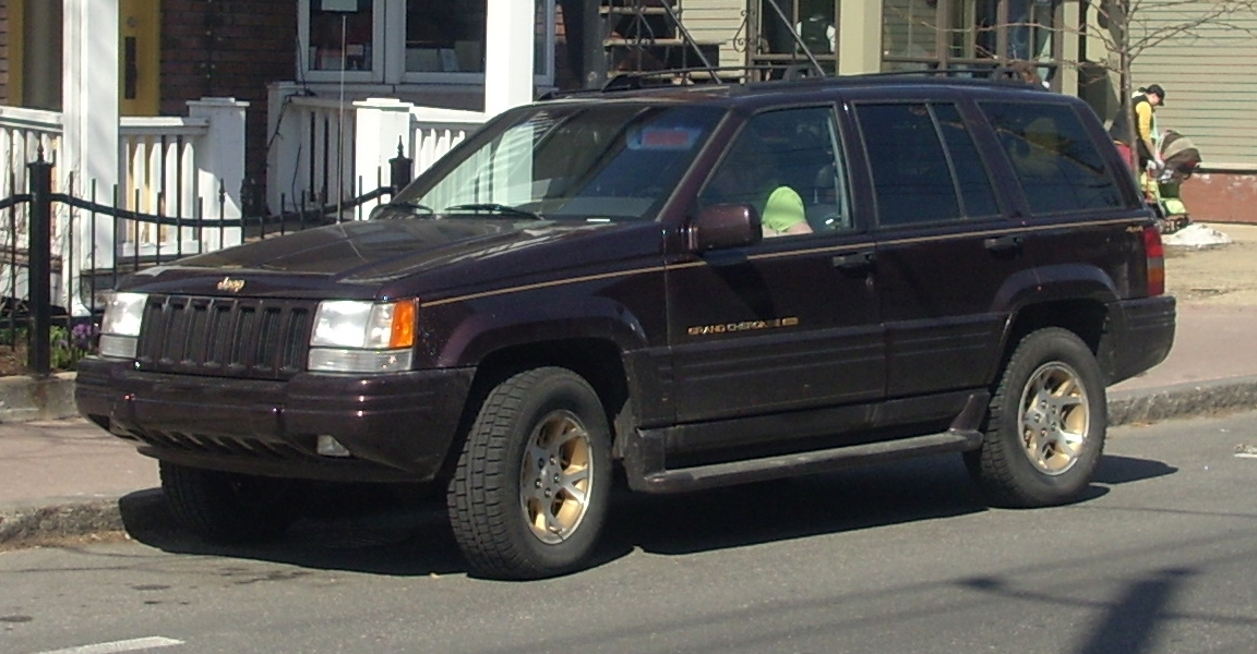 1998 Jeep Grand Cherokee #15 Jeep Grand Cherokee #15