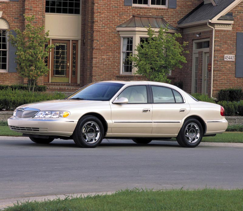 1998 Lincoln Continental Image 8