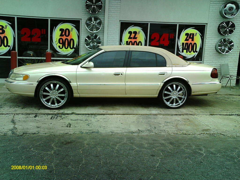 1998 Lincoln Continental Information And Photos Zombiedrive