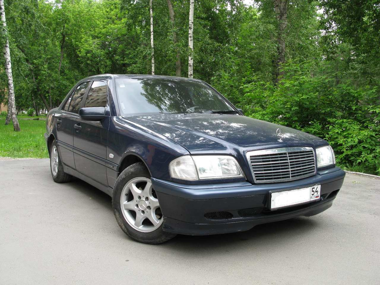 1998 mercedes benz c class information and photos
