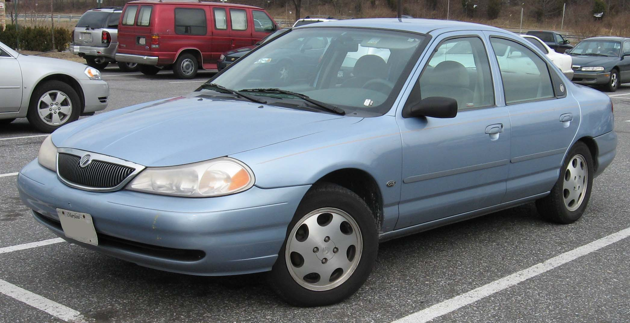 1995 Mercury Tracer Engine Diagram Guide And Troubleshooting Of Mystique Wiring Harness Blue Sable