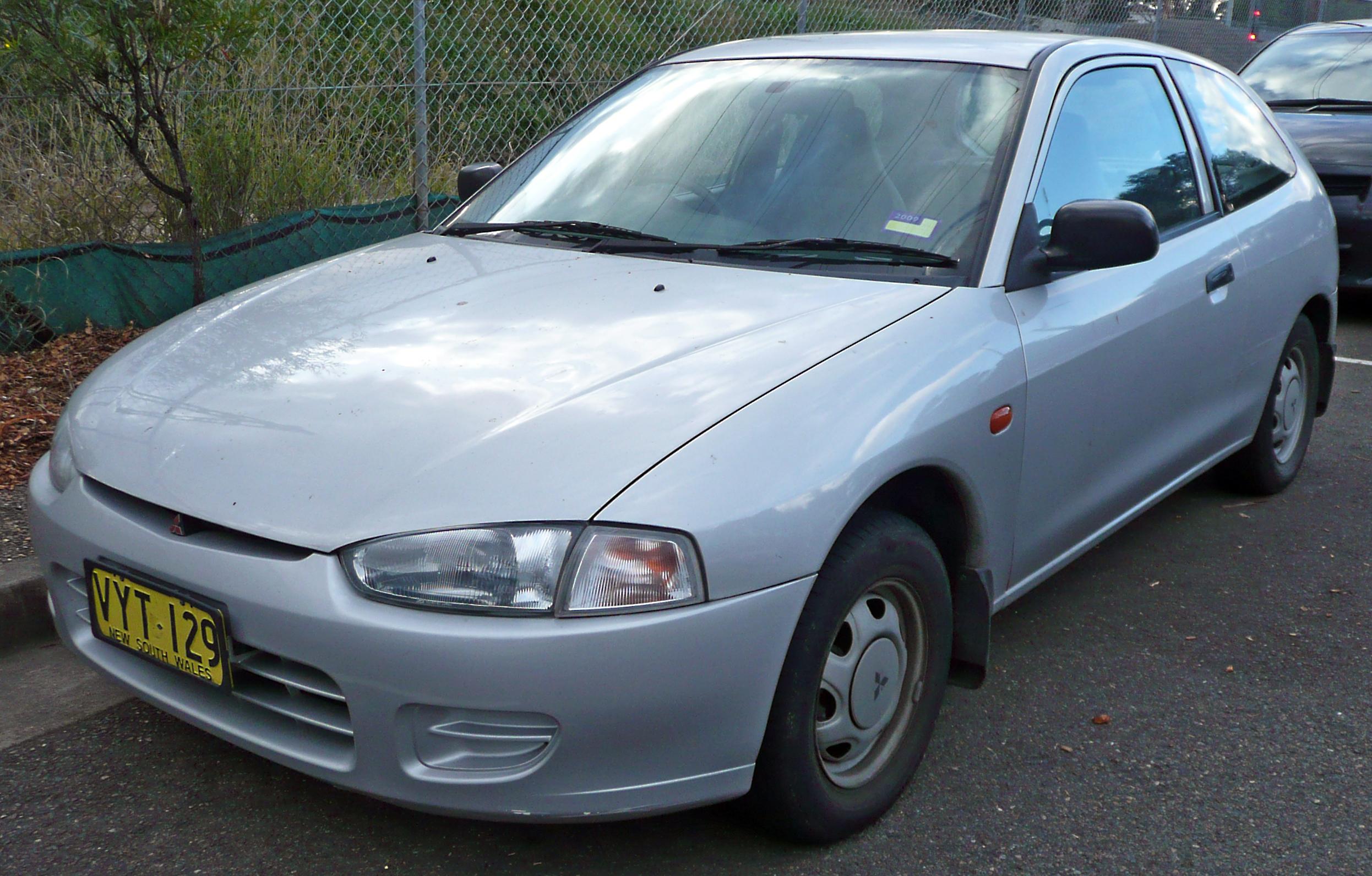 1998 Mitsubishi Mirage Image 5