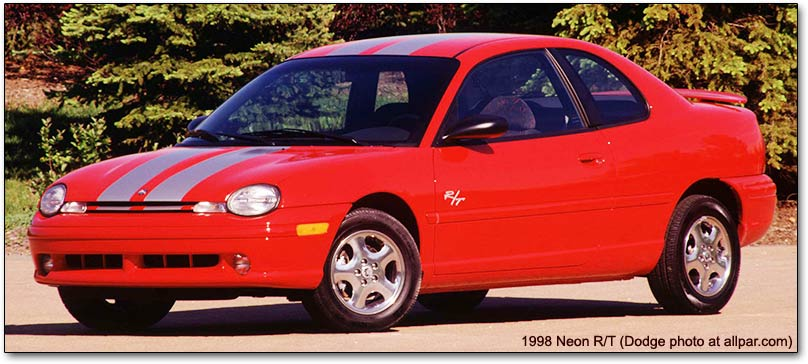 1998 Plymouth Neon #10