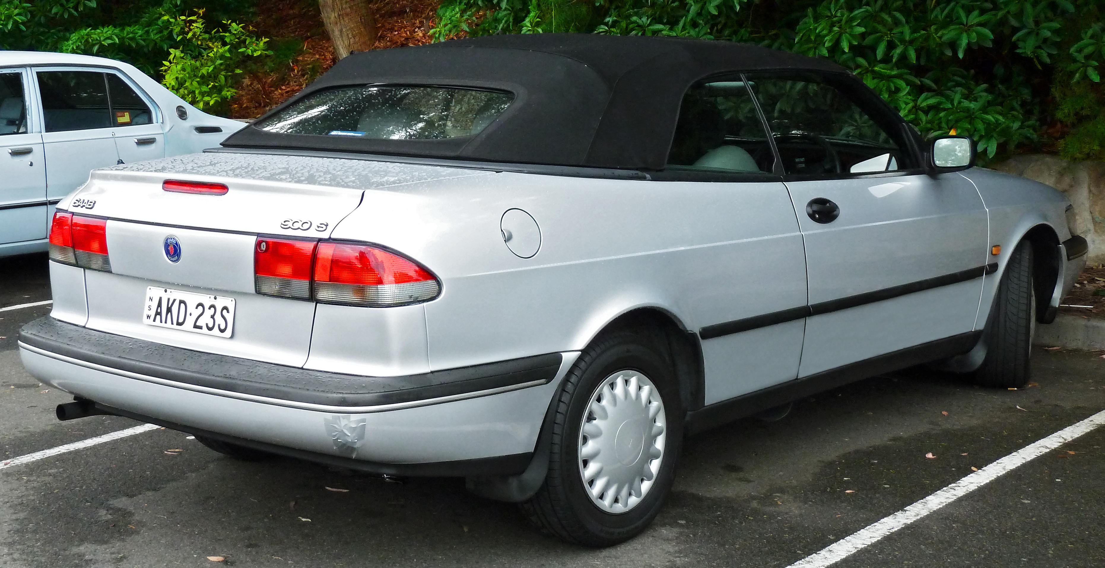1998 Saab 900 6