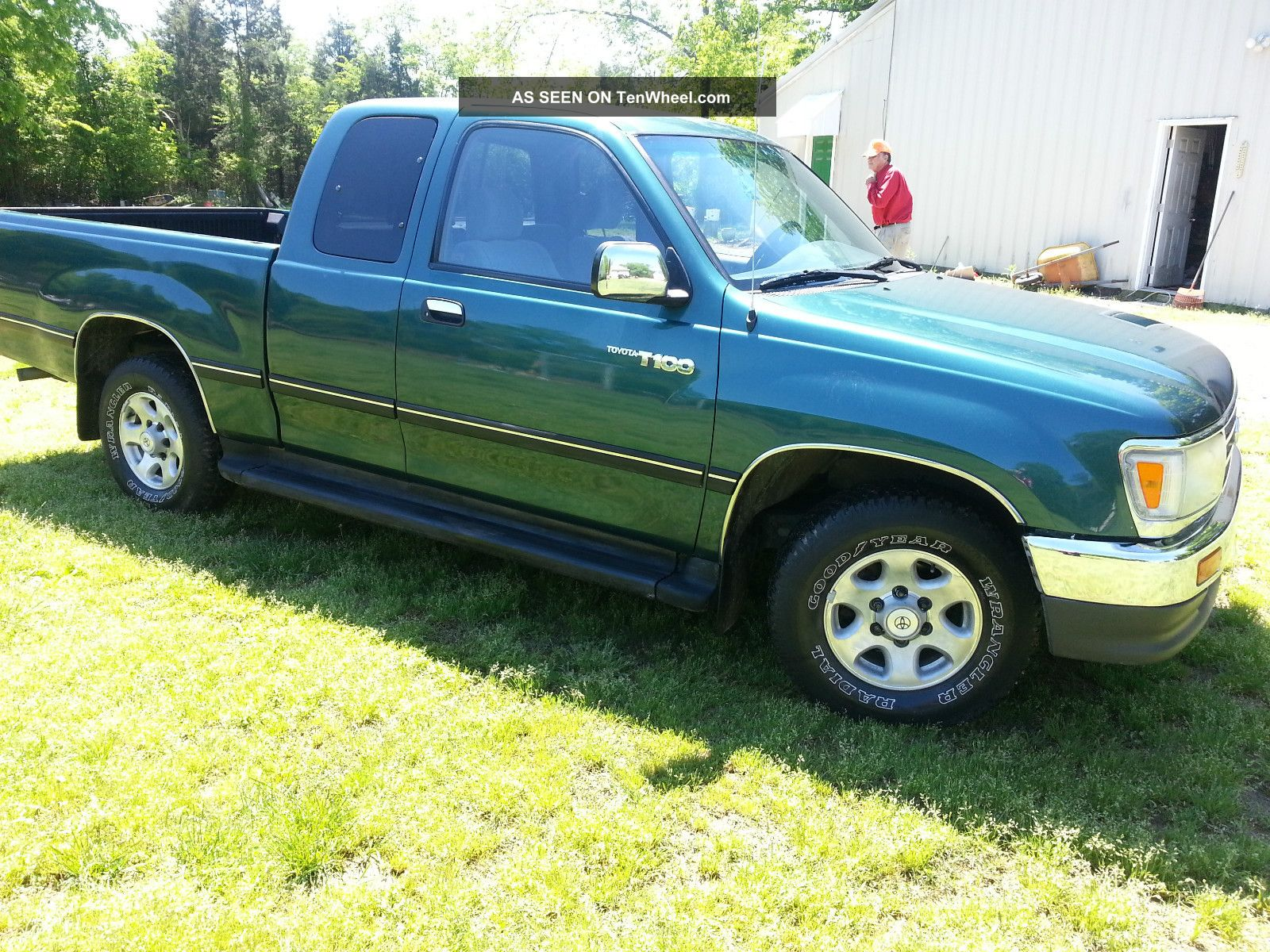 1998 Toyota T100 Information And Photos Zomb Drive