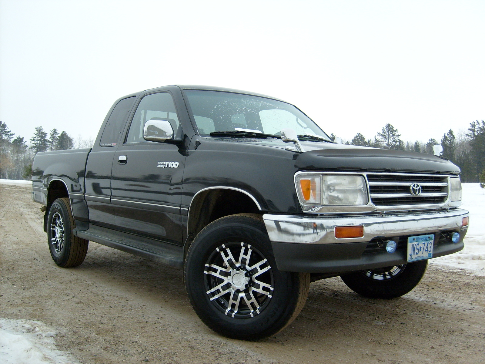 1998 toyota t100 information and photos zombiedrive. Black Bedroom Furniture Sets. Home Design Ideas