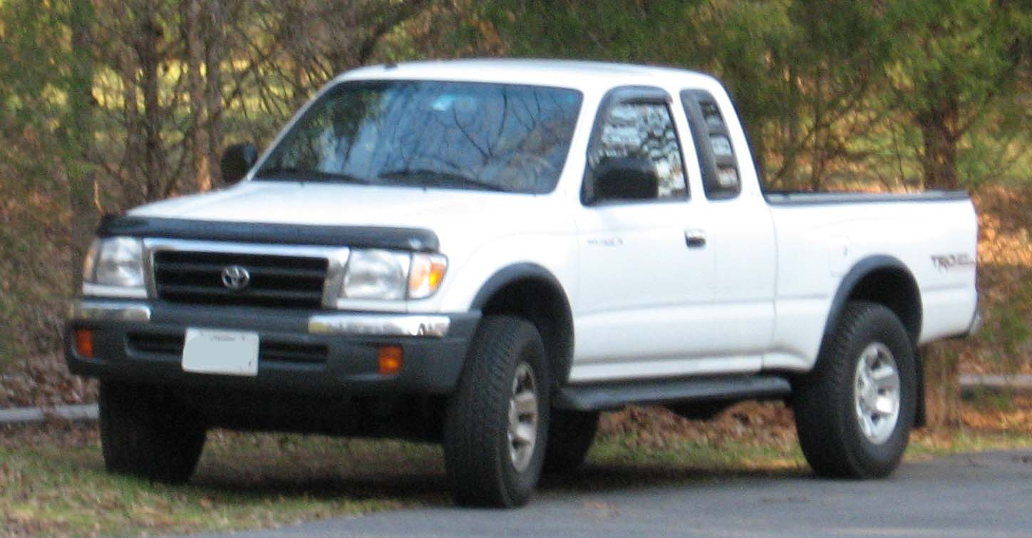 1998 toyota tacoma information and photos zombiedrive. Black Bedroom Furniture Sets. Home Design Ideas