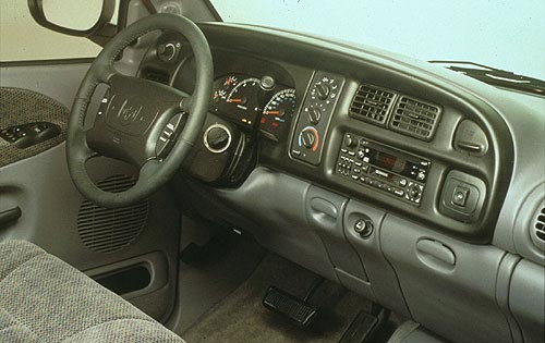 1998 Dodge Wagon 2 Dr 250 interior #7