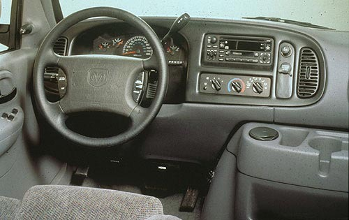 1998 Dodge Wagon 2 Dr 250 interior #8