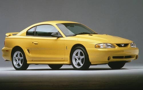 1998 Ford Mustang 2 Dr Co exterior #2