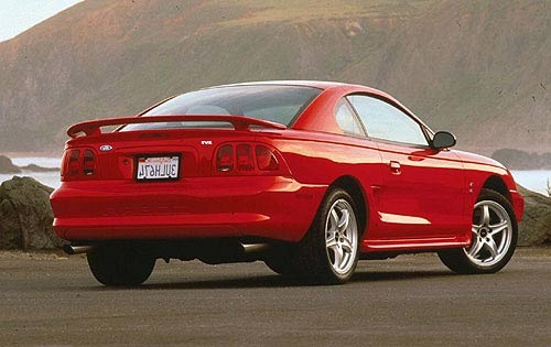 1998 Ford Mustang 2 Dr Co exterior #3