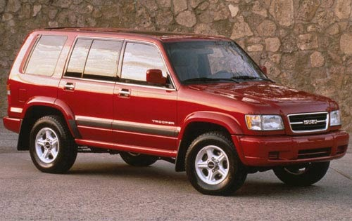1999 isuzu trooper image 2