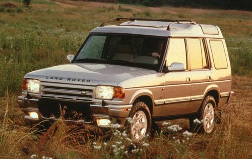1998 Land Rover Discovery interior #4