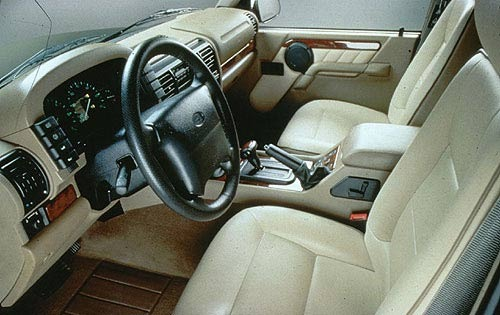 1998 Land Rover Discovery interior #6
